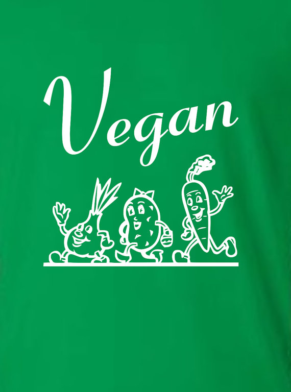 Vegan t-shirt for foodies