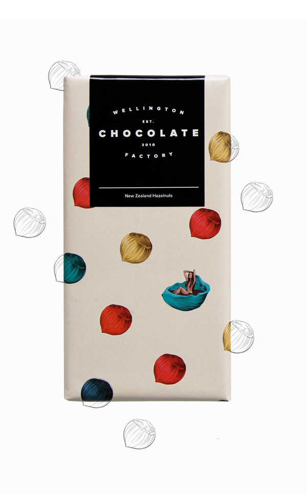 Wellington chocolate package design
