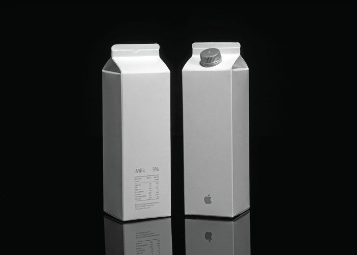 Luxurious food packaging, if Apple were selling food