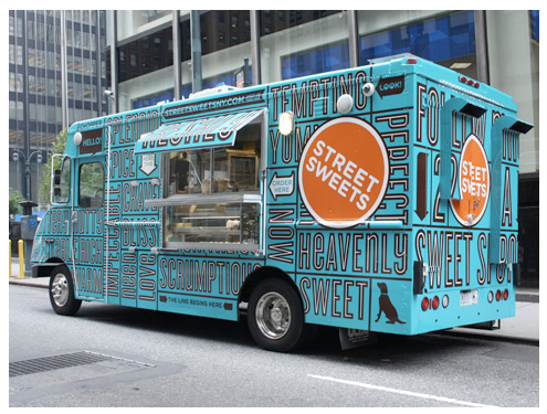 Food truck slideshow a collection of 10 cool food trucks for Design your food truck