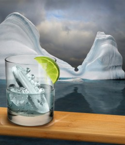 ice cube titanic