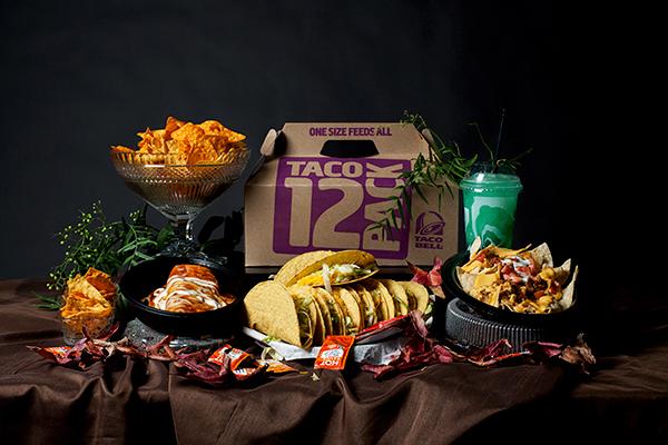 Taco food art, contemporary pieces