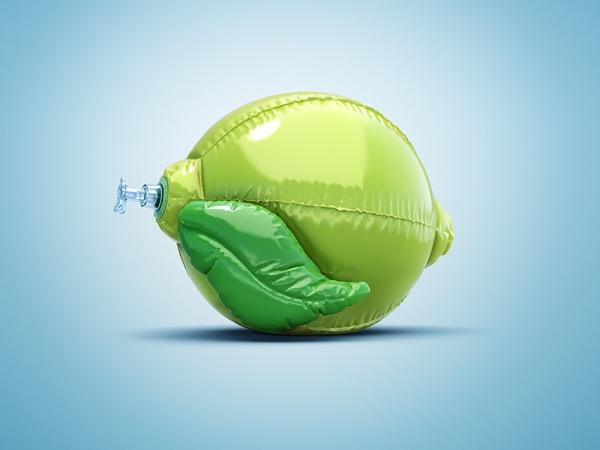 Inflatable Vegetables and Fruit Balloons for Hiltl Restaurant 4