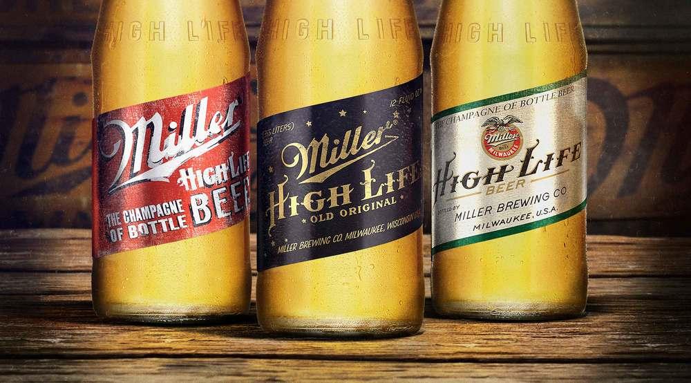 Miller Beer Labels