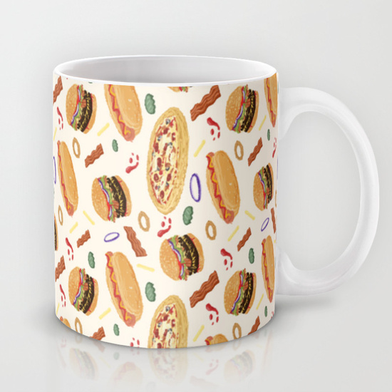 Mug burgers