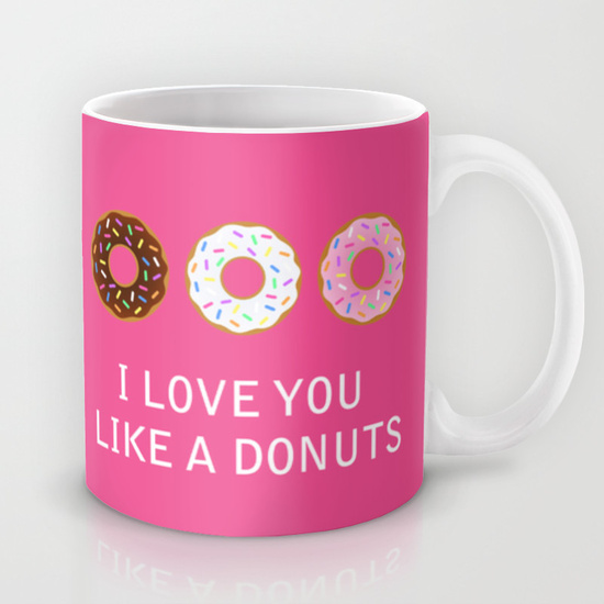 Mug donuts