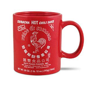 Sriracha mug - Sriracha products that you don't need