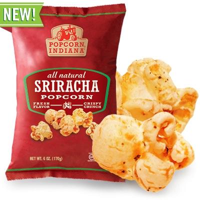 Sriracha popcorn - Sriracha products that you don't need