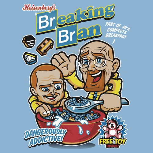 Breaking Bad Cereal T-shirt