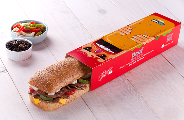 Sandwich packaging that will make you hungry - AterietAteriet ...