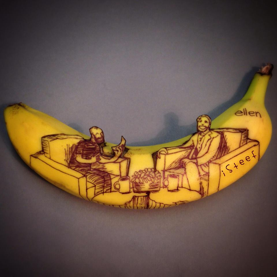 Banana Art By Stephan Brusche AterietAteriet Food Culture