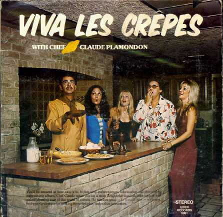 Food Album Covers - Viva Les Crepes