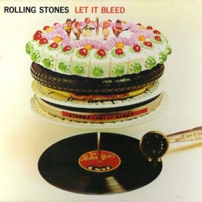 Food Album Covers - Rolling Stones Let it Bleed