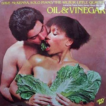 Food Album Covers - Dave McKenna Solo Piano Oil and Vinegar