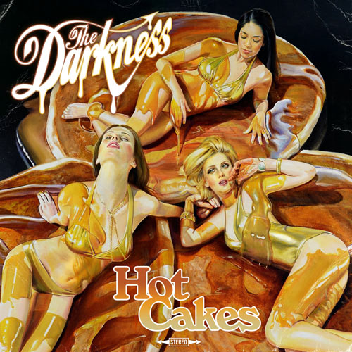 Food Album Covers - The Darkness Hot Cakes
