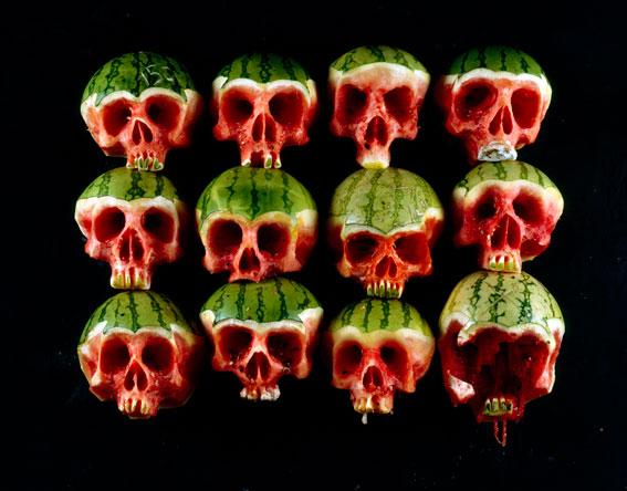 dimitri tsykalov watermelon skull