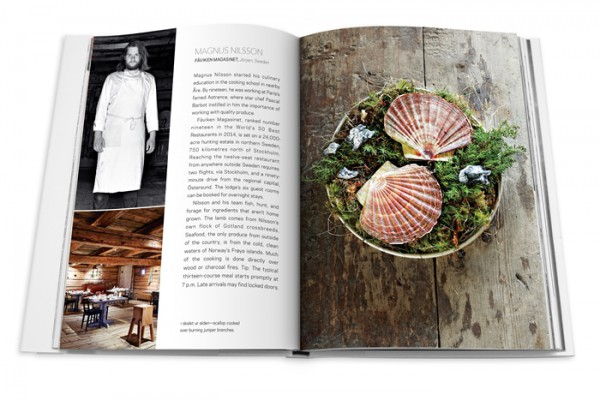 Farfetch curates food, Magnus Nilsson of Faviken section