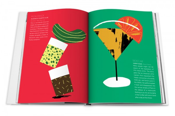 Farfetch curates food, drink illustrations
