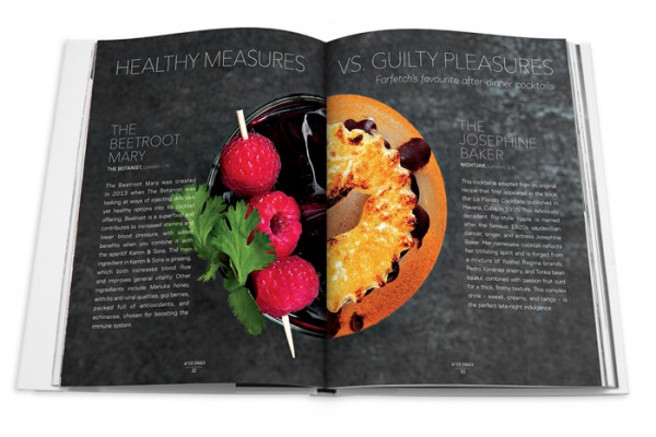 Cool dessert drinks from Farfetch curates food book
