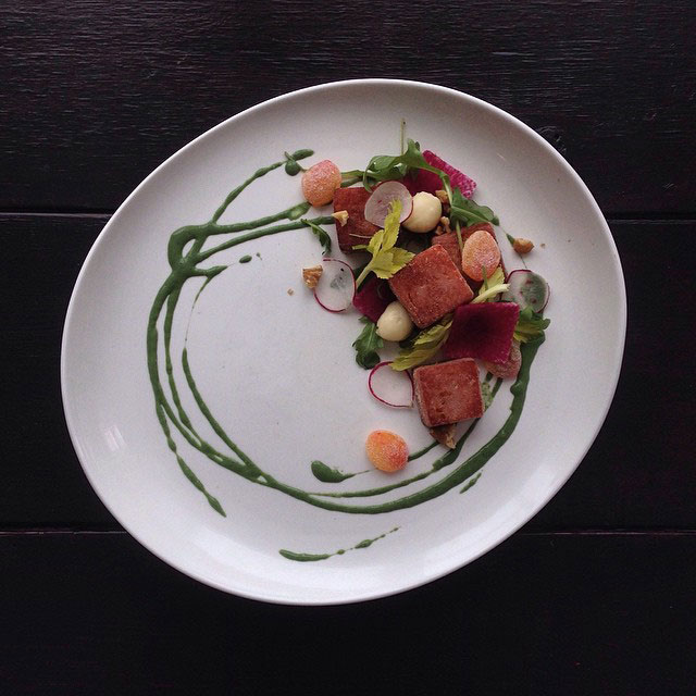 The art of plating junk food