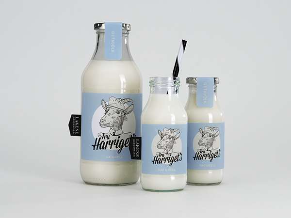milk bottle packaging