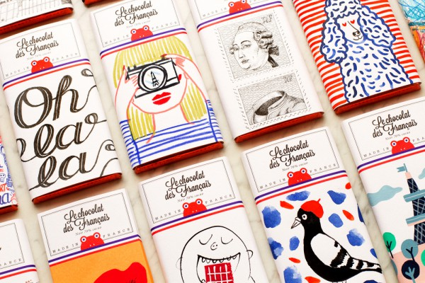 French Chocolate Packaging, le chocolat des francais