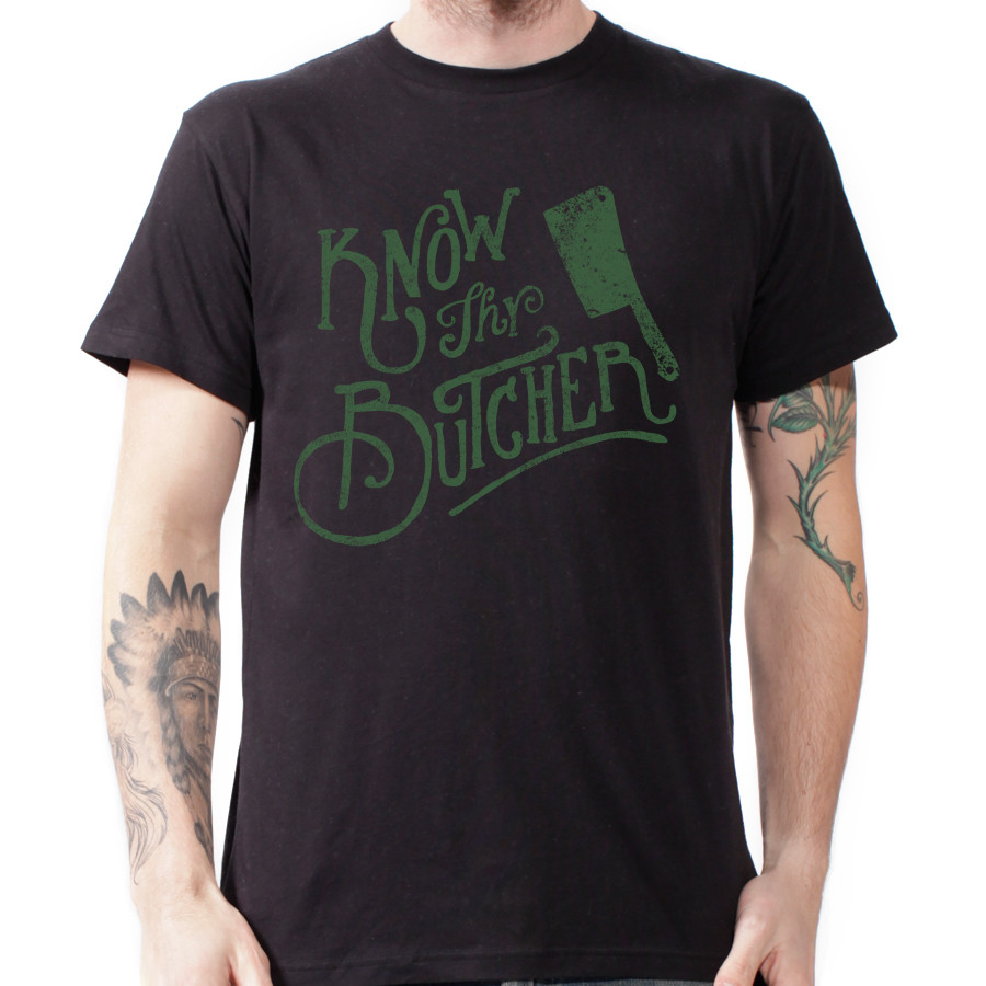 know thy butcher t shirt, Meat T-Shirts