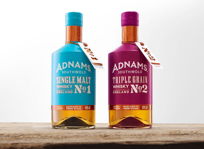 Adnamns Single Malt, great whiskey packaging