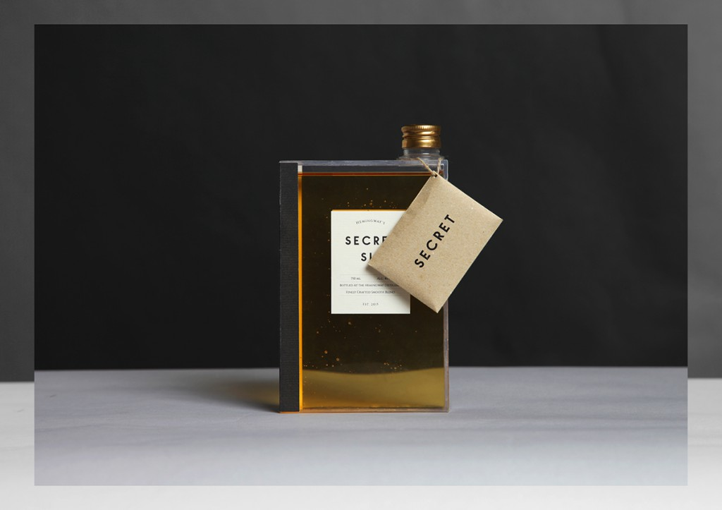 Square whiskey bottle, great whiskey packaging