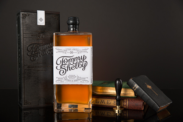 Great Whiskey Packaging For Tommy Shelby