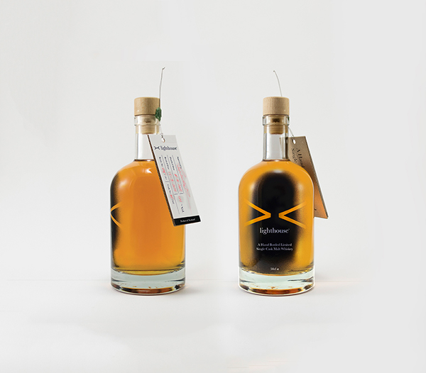 whiskey packaging design