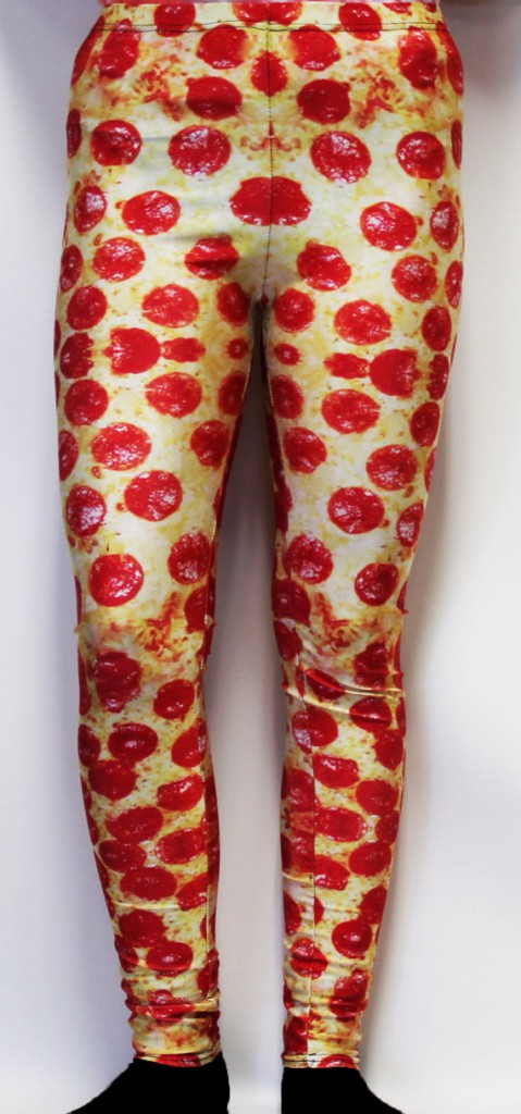 pizza leggings