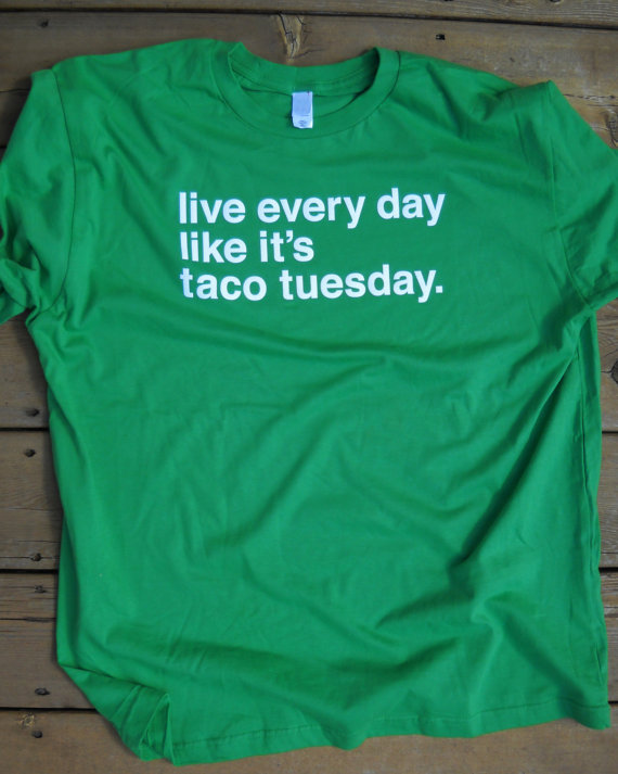 taco tuesday tshirt