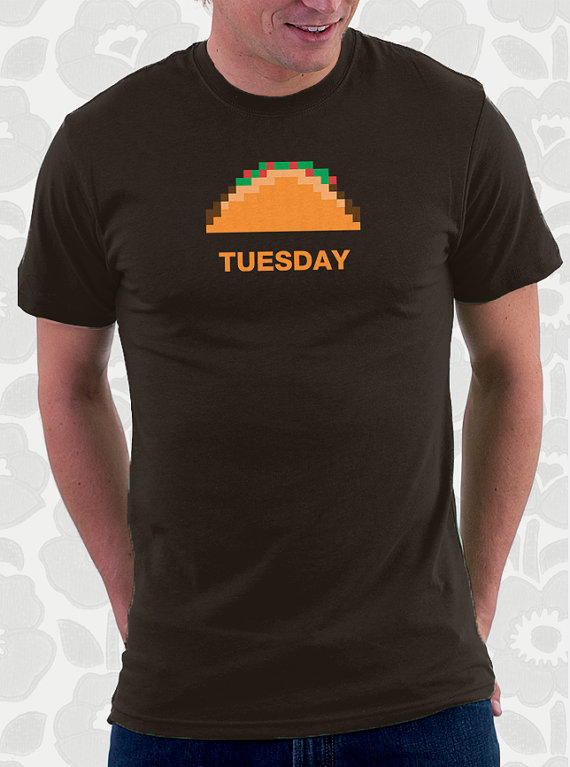 pixel tshirt taco tuesday