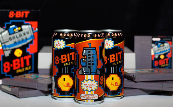 pacman beer packaging