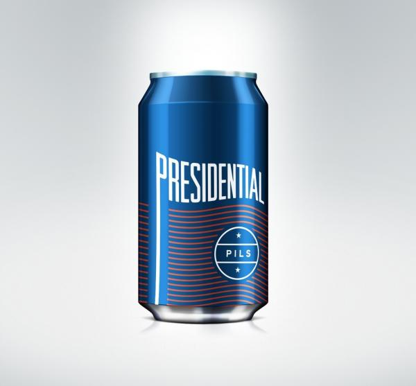 presidential beer packaging presidential pils