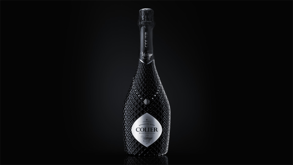 Cool champagne bottle designs