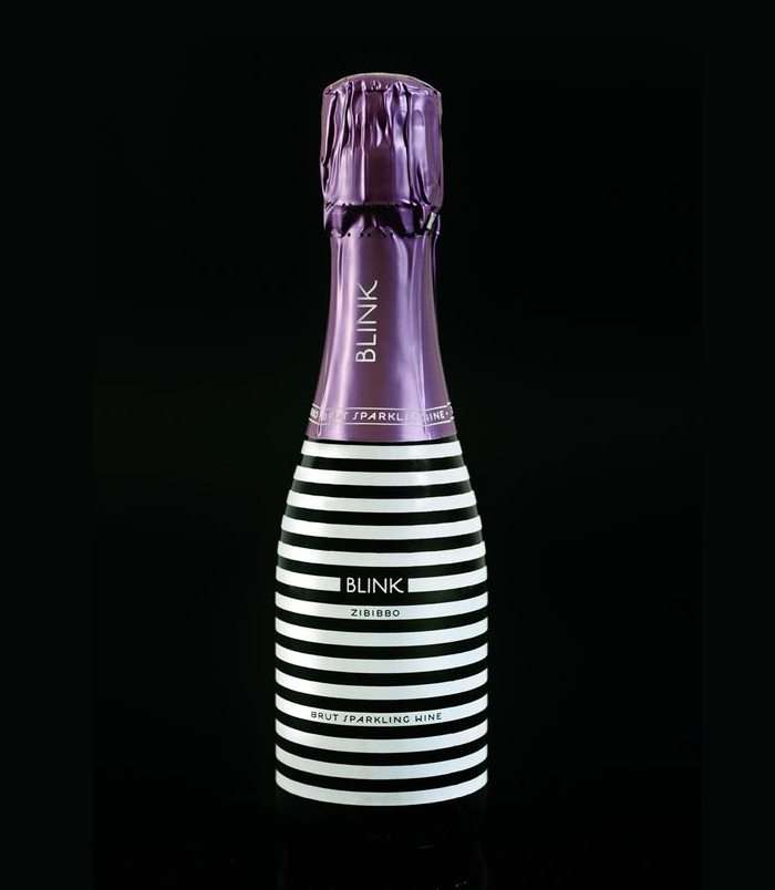 Striped champagne bottle design - 20 Champagne Bottle Designs