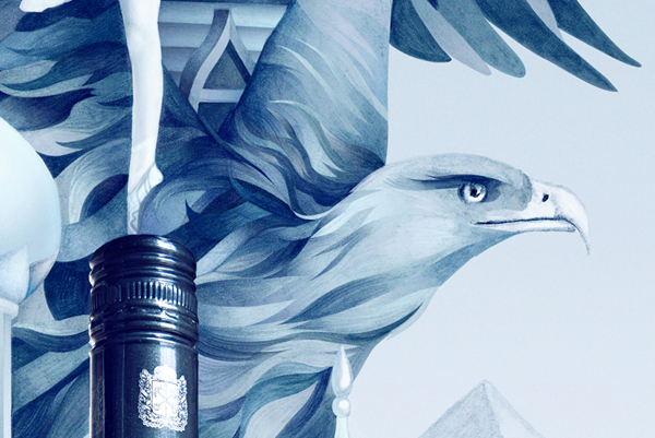 eagle illustration by mitchell nelson