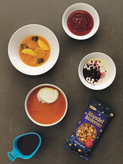 The Nordic Cookbook rosehip soup photograph by Erik Olsson