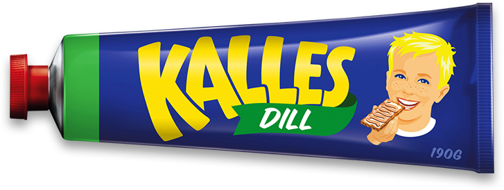 Kalles Kaviar in a tube, see more food in tubes at ateriet.com