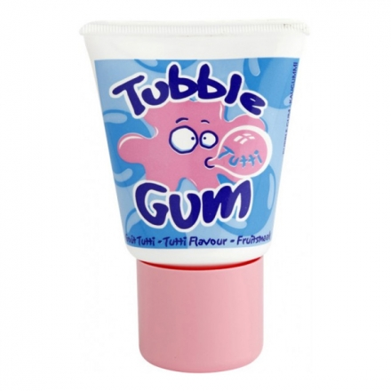 Bubble Gum in a tube