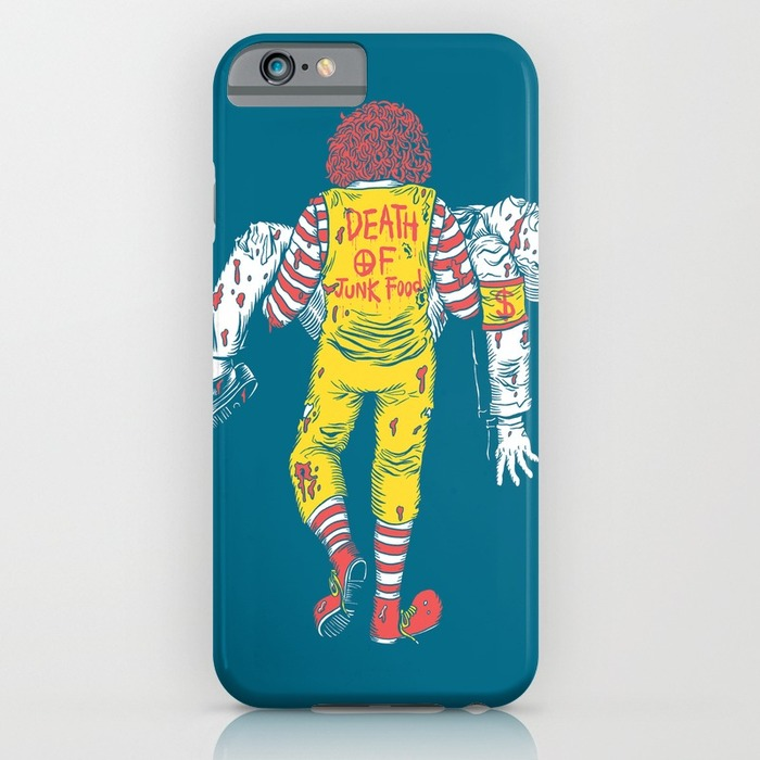 Ronald McDonald phone case, 20 Phone Cases for Foodies list