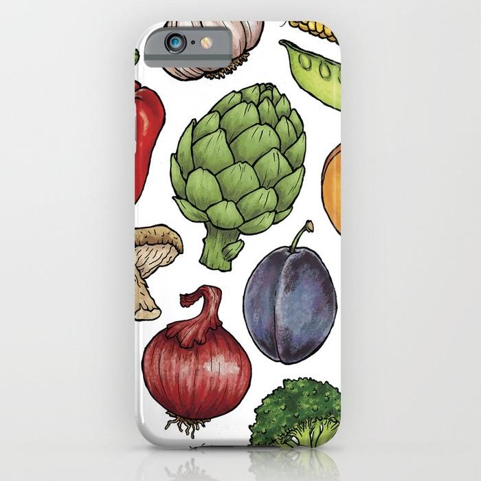 Artichoke phone case, 20 Phone Cases for Foodies list