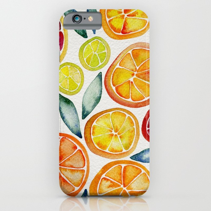 Lemon phone case, 20 Phone Cases for Foodies list