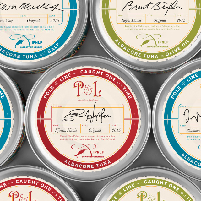 Pole and Line tuna packaging