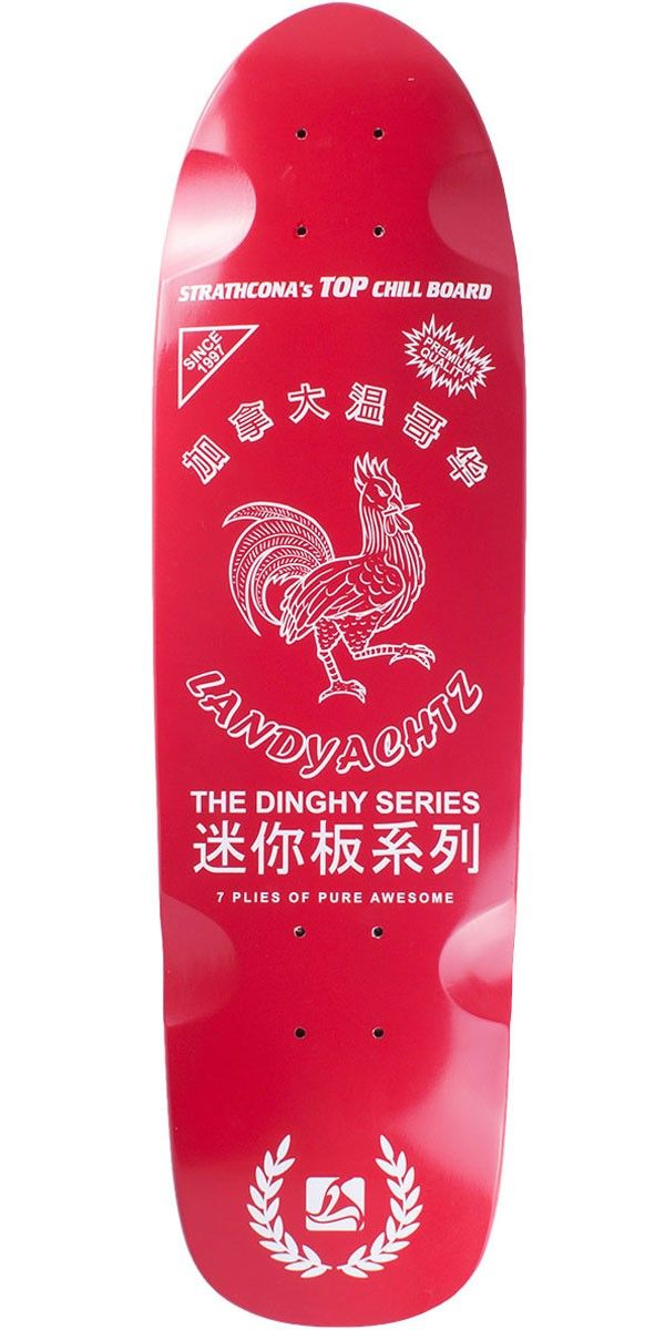 Food skateboard, Skateboard Sriracha Graphics