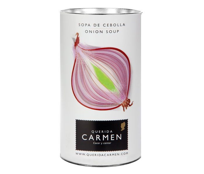 Sopa de cebolla in tin can, Soup Packaging Design Inspiration