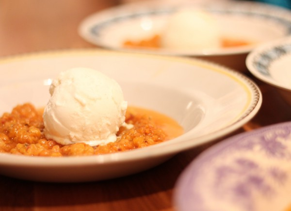Cloudberries, learn all there is to know about this great berry. Cloudberry with vanilla ice cream.