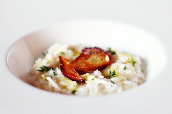 Porcini mushroom risotto